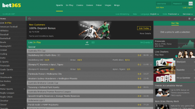 Bet365 Website