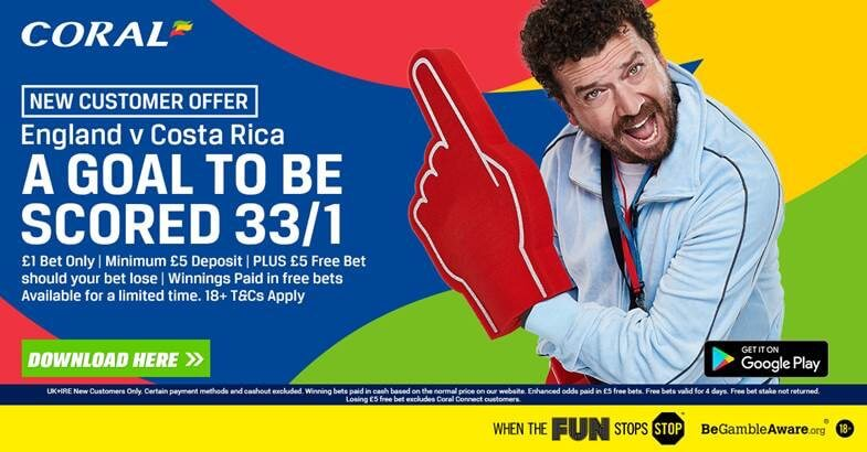 Coral-Free-Bet-Offer